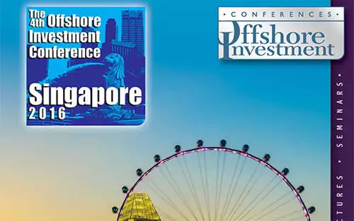 The 4th Offshore Investment Conference Singapore 2016