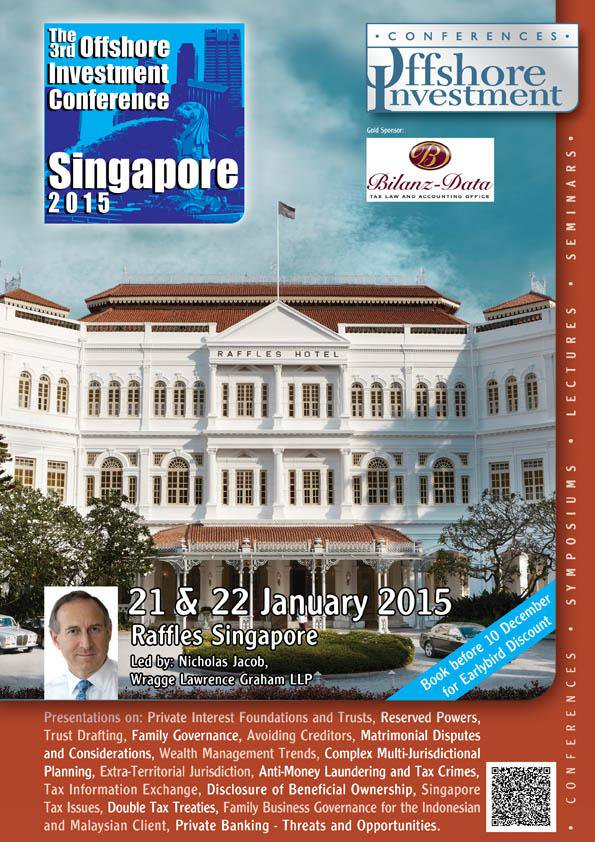 The 3rd Offshore Investment Conference Singapore 2015